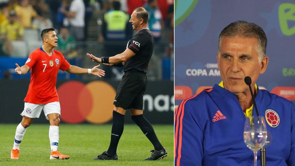 """Las duras declaraciones de Queiroz contra la Copa América: """"Nos han avisado que cambiaban las normas a 15 minutos de empezar el partido"""""""