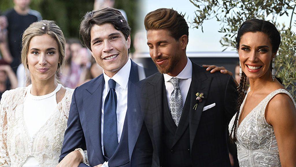 Tiempo de reflexión: 7 tendencias de novia e invitada que hemos sacado en claro de la boda de Pilar Rubio y María Pombo