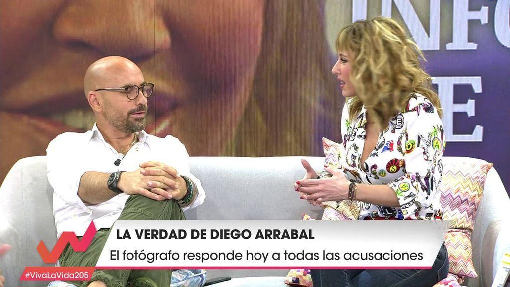 Emma García llama la atención a Diego Arrabal y le recrimina sus formas