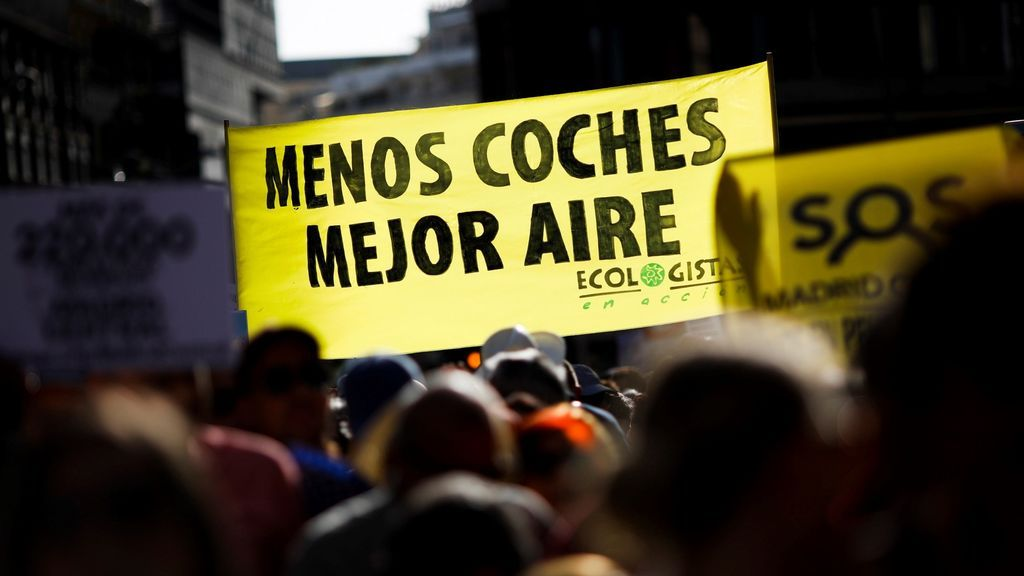Piquetes informativos en el perímetro de Madrid Central para pedir responsabilidad a conductores