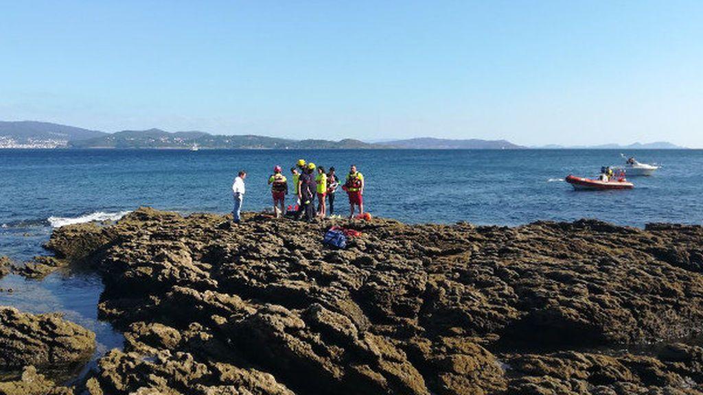 Un buceador fallece tras pasarle una embarcación por encima en Portonovo (Galicia)