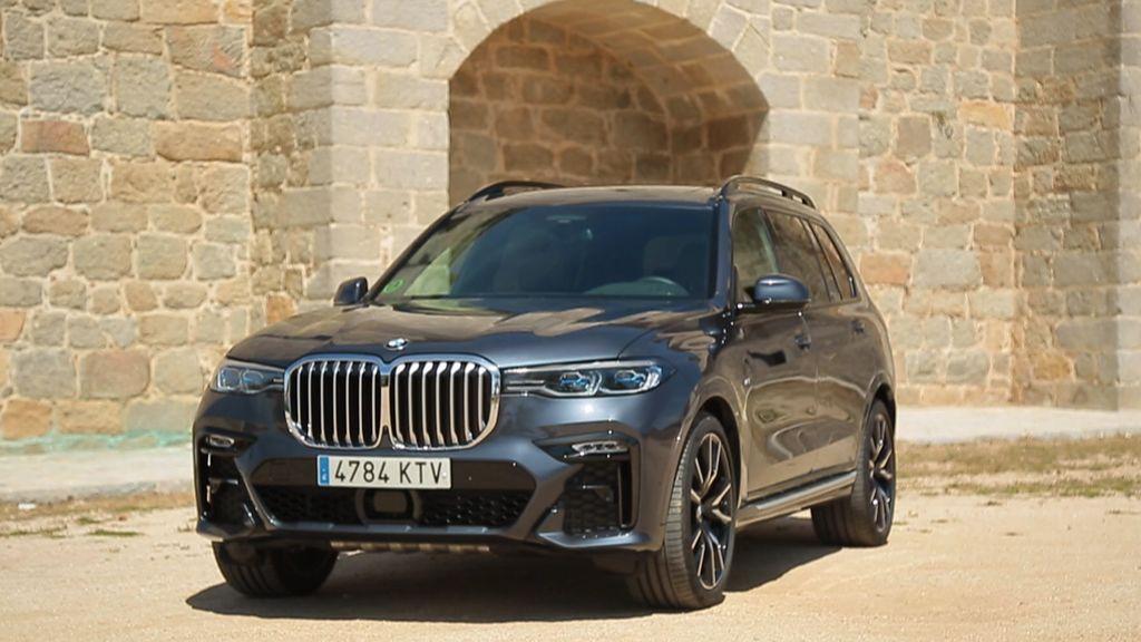 Probamos el coche más grande de BMW, el poderoso X7