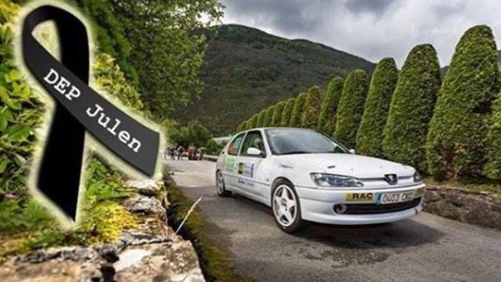 Muere Julen Bilbao, copiloto de rallyes al chocar contra un árbol en una prueba en Vizcaya