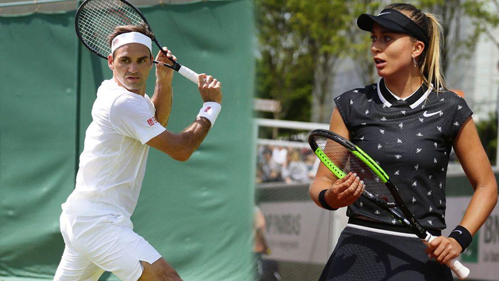 """La anécdota de la joven tenista española Paula Badosa: Tiene que """"sacar"""" a Federer de la pista"""