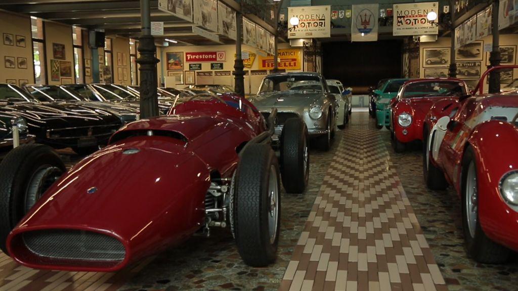 Visitamos el museo Panini, un santuario que guarda las joyas más valoradas de Maserati
