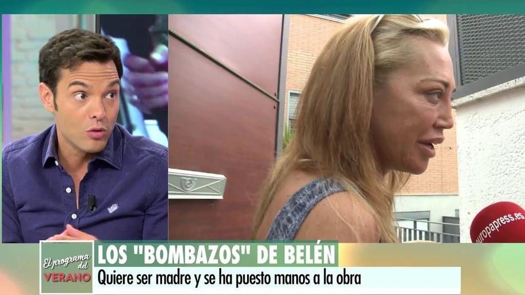 """Rossi: """"Belén Esteban llevaba tiempo diciendo que se quería quedar embarazada"""""""