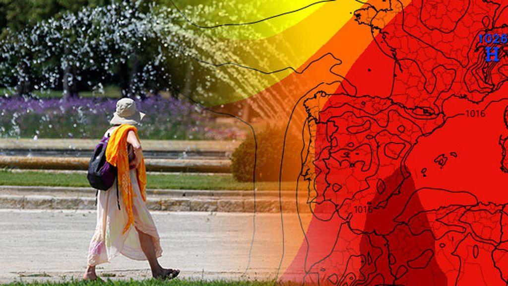 La ola de calor rompe récords históricos: se han superado las temperaturas más altas en más de 10 provincias