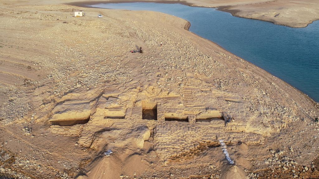 La sequía provoca que salga a la luz un palacio de la edad de Bronce del Imperio Mittani en Irak