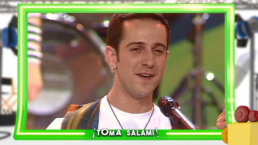 'Nachopolizate' no fue el primer éxito de Víctor Sandoval: en 1994 era una estrella del pop