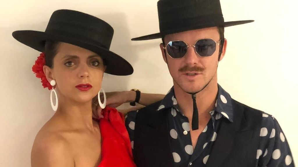 Macarena Gómez y Aldo Comas en la post fiesta flamenca de la boda de lo Carlota Casiraghi y lo que les une a esta familia