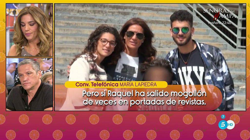 """María Lapiedra defiende a Gustavo: """"Si a Raquel le ha molestado será porque ella quería vender la exclusiva"""""""