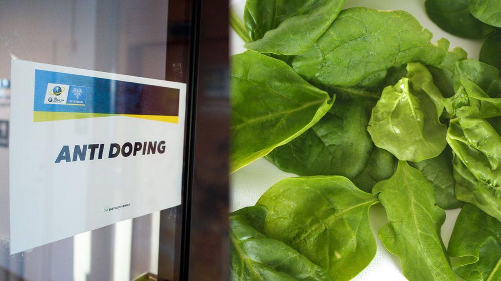 Piden incluir a las espinacas como sustancia prohibida por dopaje