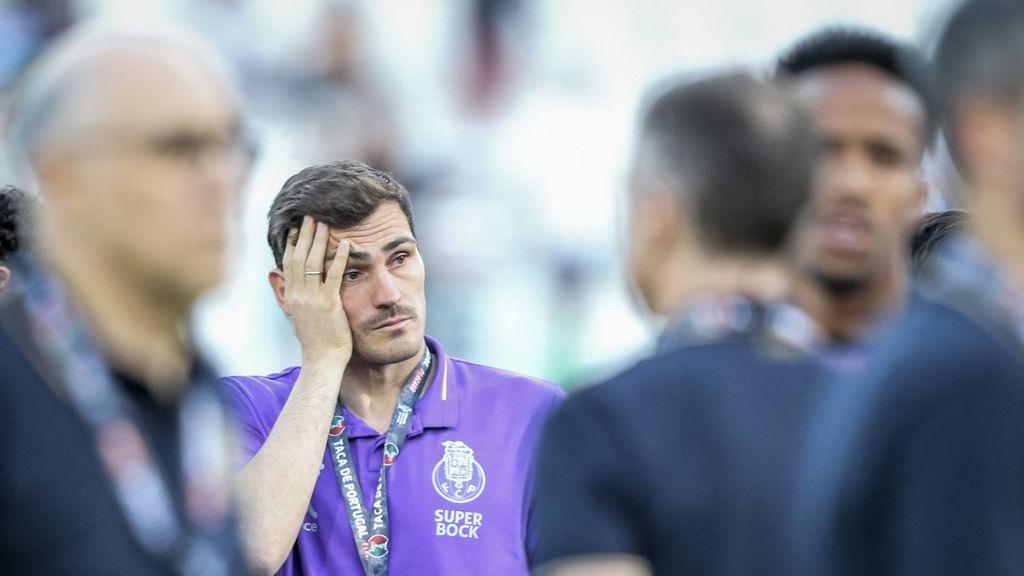 Casillas no acude al segundo entrenamiento al Porto y