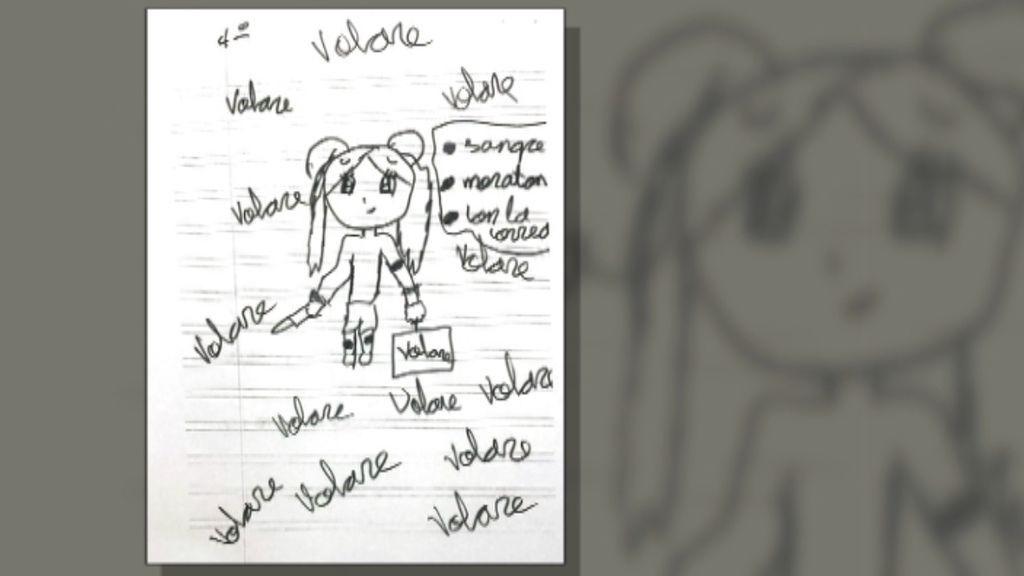 El Desolador Dibujo De Una Niña De 11 Años Que Plasma El Sufrimiento Que Vivía Cada Día Debido A Los Maltratos