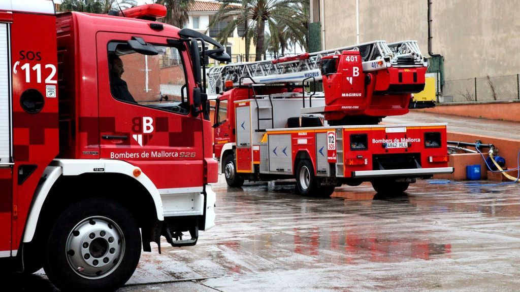 Desalojan a más de 600 personas por un incendio en un hotel del Arenal, en Palma de Mallorca