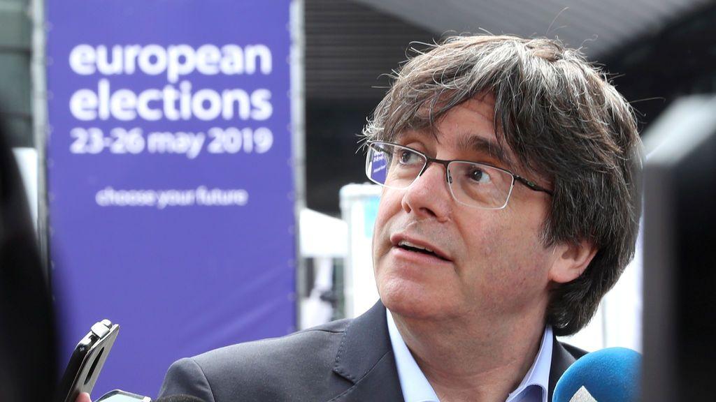Puigdemont amaga con entrar en Francia para la manifestación ante el Parlamento Europeo