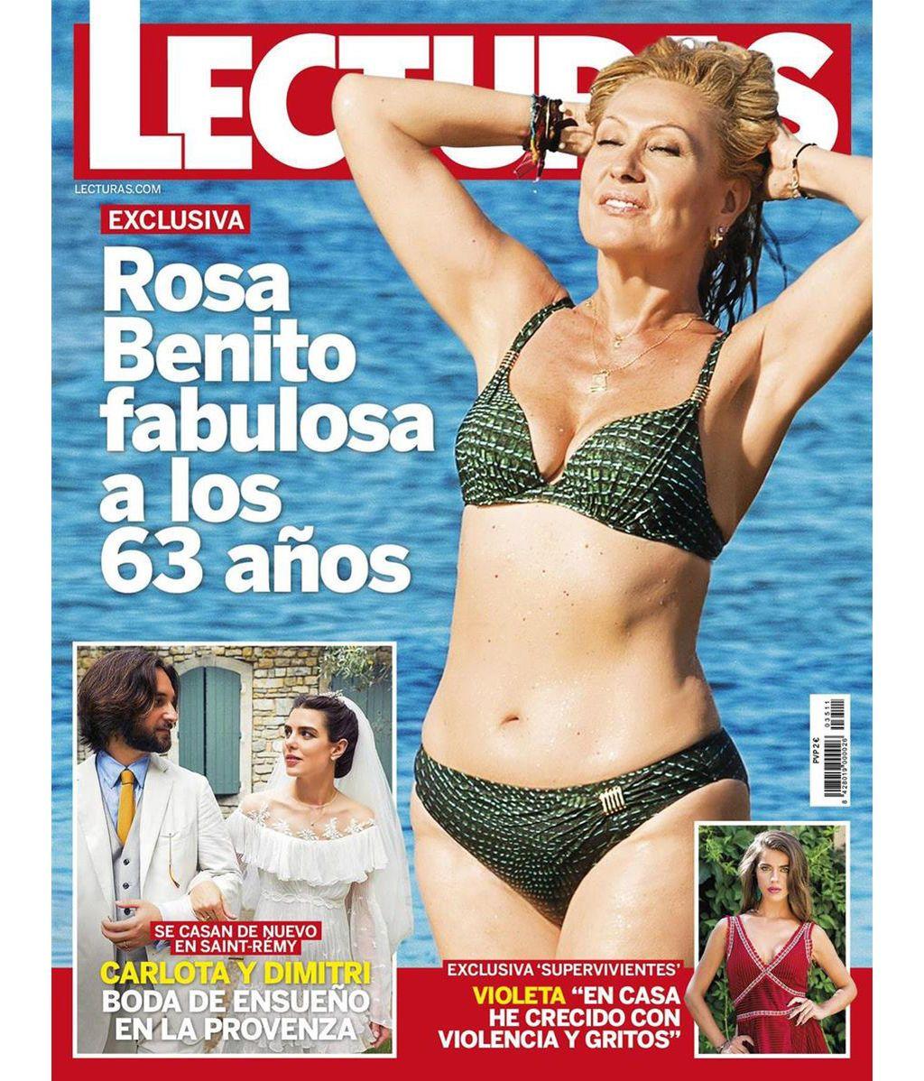 Rosa A Sus Benito En 'sálvame'Impresionante Bikini Años Outdoor 63 cjRqS345AL