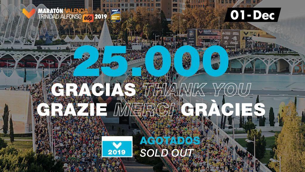 25000 gracias - twitter