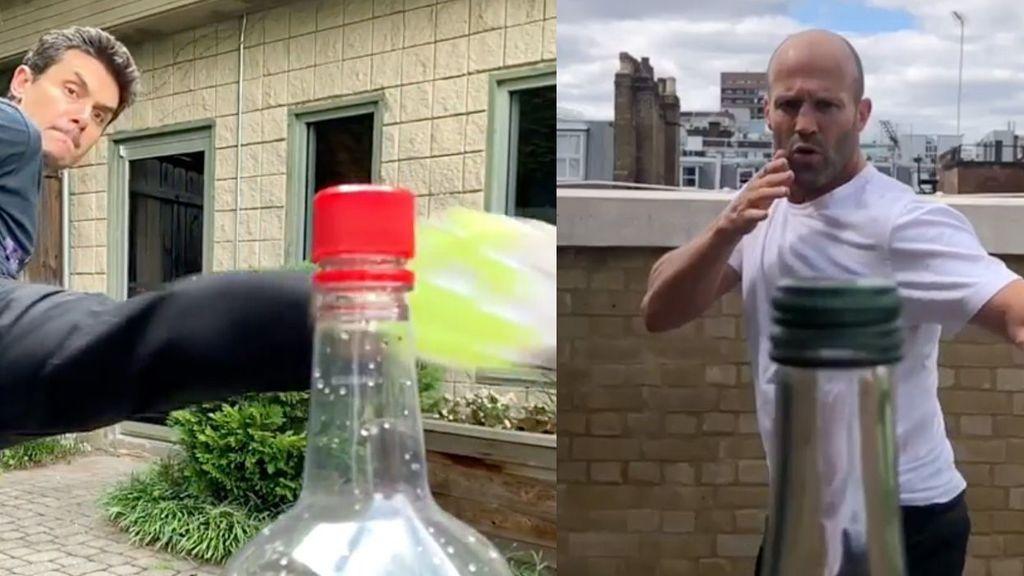 'Bottle Cap Challenge' o cómo abrir una botella de una patada