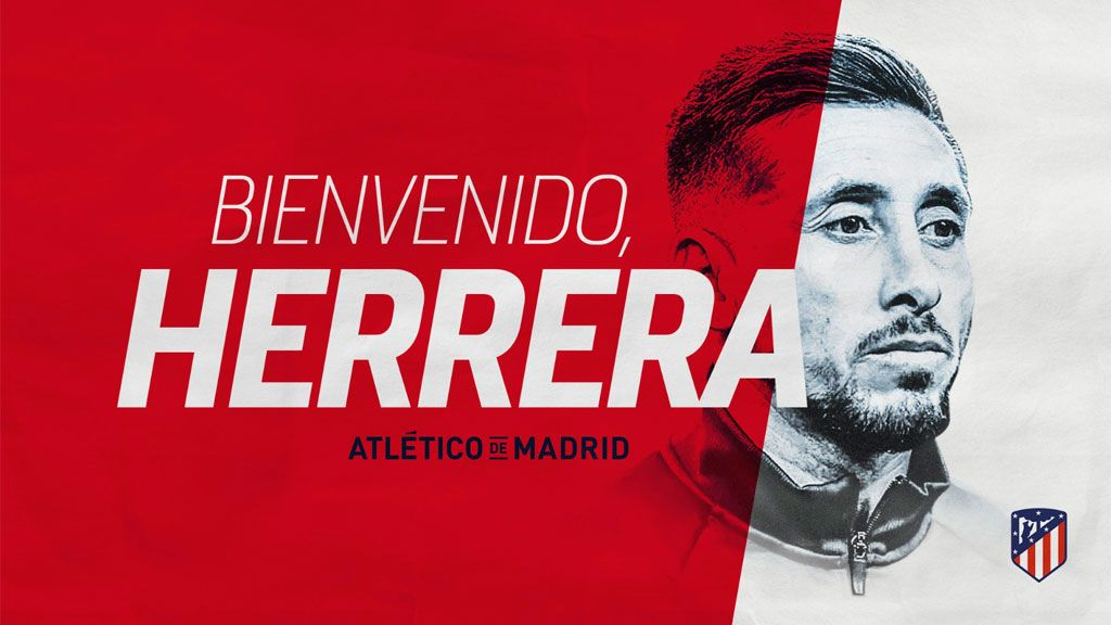 Hector Hererra refuerza el centro del campo del Atlético de Madrid para las próximas tres temporadas