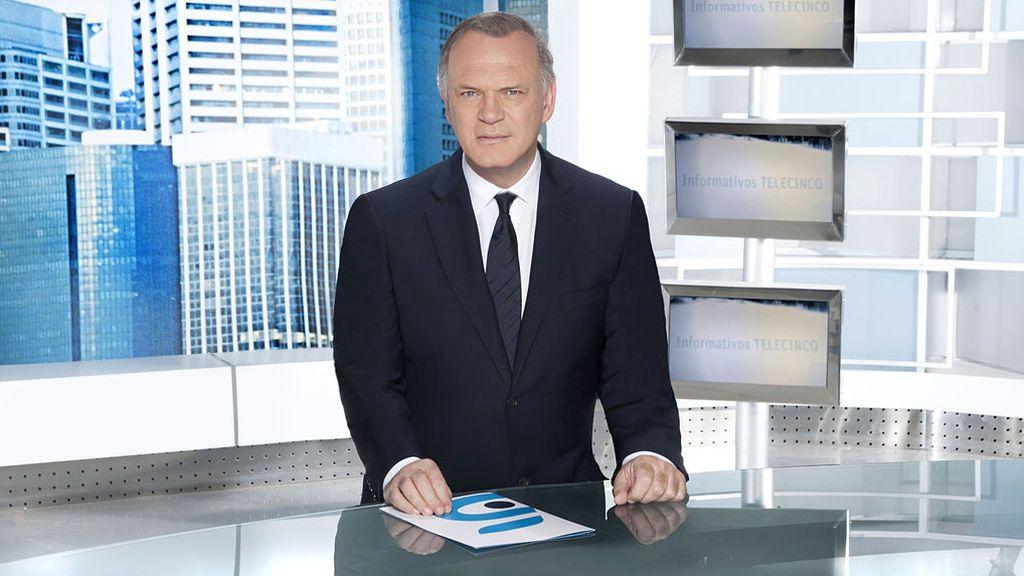 Pedro Sánchez estará este jueves en informativos Telecinco 21:00 horas, con Pedro Piqueras