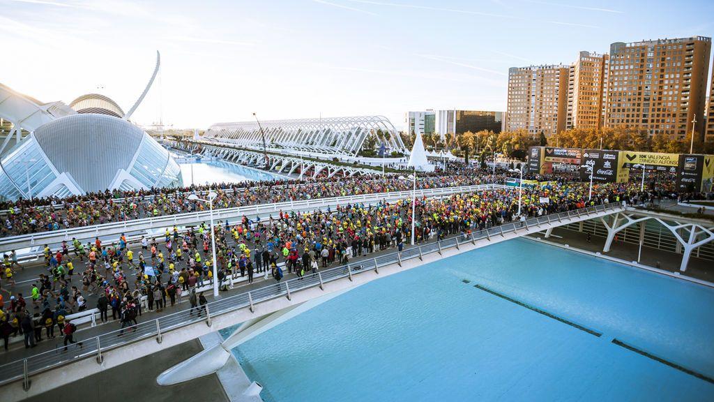 Batiendo récords: Maratón Valencia agota los 25.000 dorsales y habilita una lista de espera