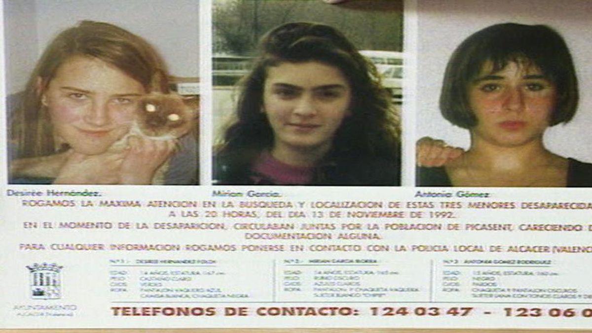 La Guardia Civil investiga si las cuatro falanges aparecidas pertenecen a alguna de las niñas de Alcasser