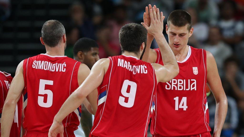 Serbia reduce su lista para la Copa del Mundo FIBA con la presencia de Jokic, Bogdanovic, Marjanovic o Teodosic