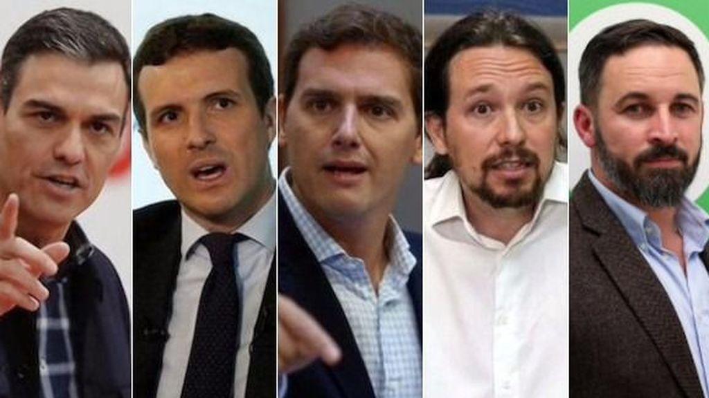 Todos los políticos suspenden: Sánchez el mejor valorado e Iglesias tan mal como Casado