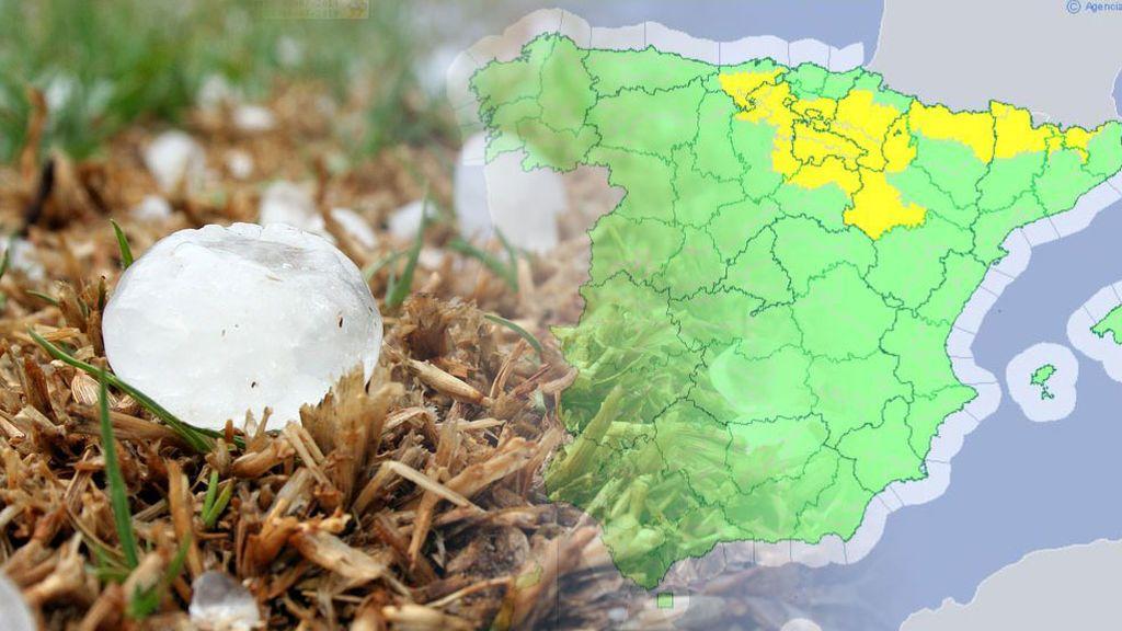 Ojo al granizo: hay aviso por las tormentas veraniegas en más de diez provincias