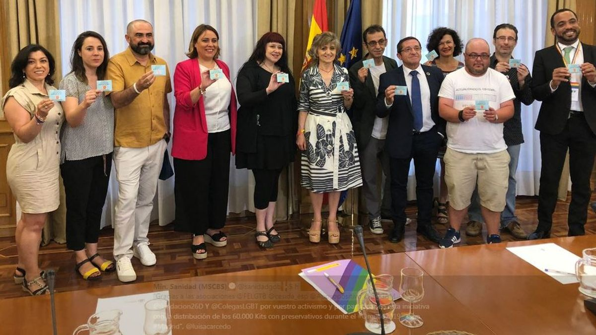 Sanidad regalará 60.000 condones y lubricantes durante la manifestación del Orgullo Gay
