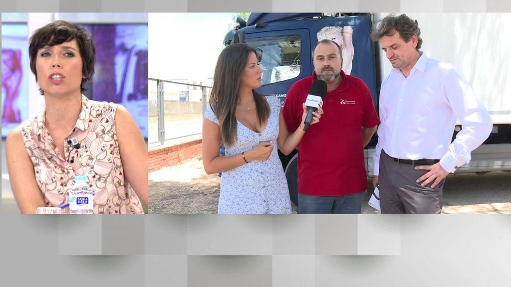 """El enfado de Marta Nebot con el empresario que lleva una mujer desnuda en los camiones: """"¿Tiene usted madre, hija o hermana?"""""""