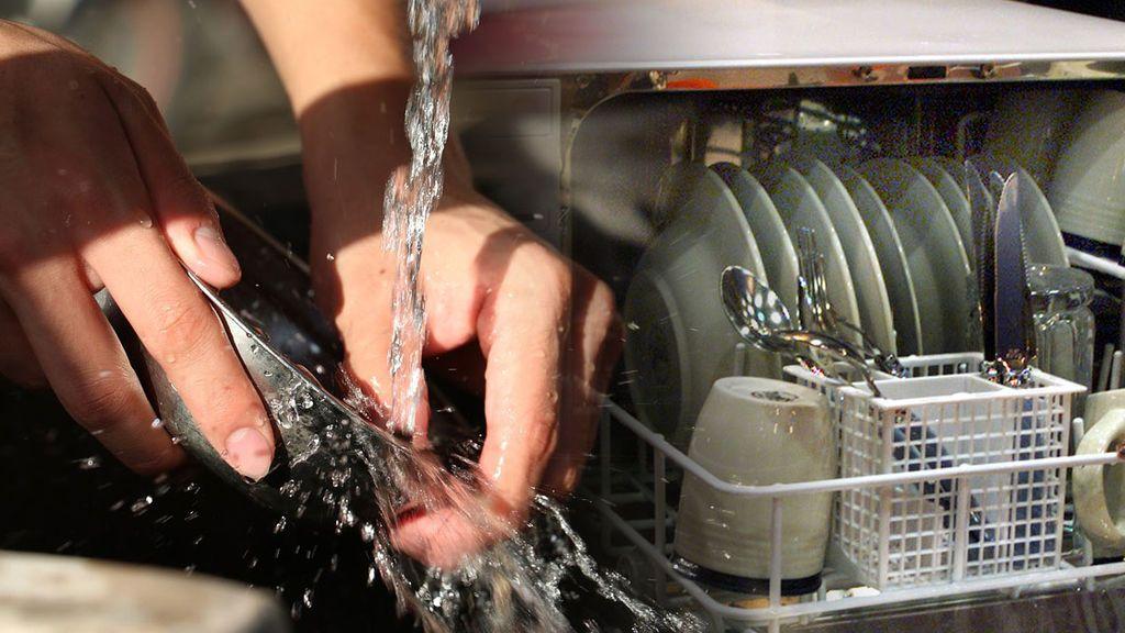Qué es mejor: meter tus platos al lavavajillas directamente o darles antes un agua