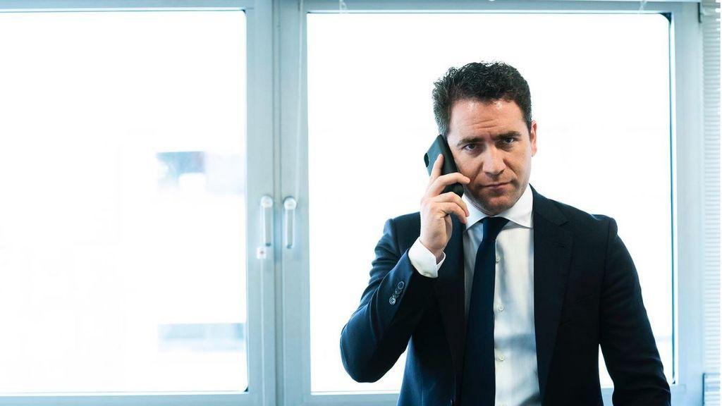 García Egea al teléfono en Murcia