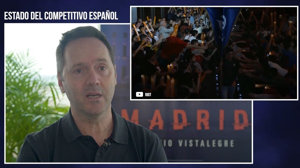 Alberto Guerrero habla sobre el estado competitivo de League of Legends en España