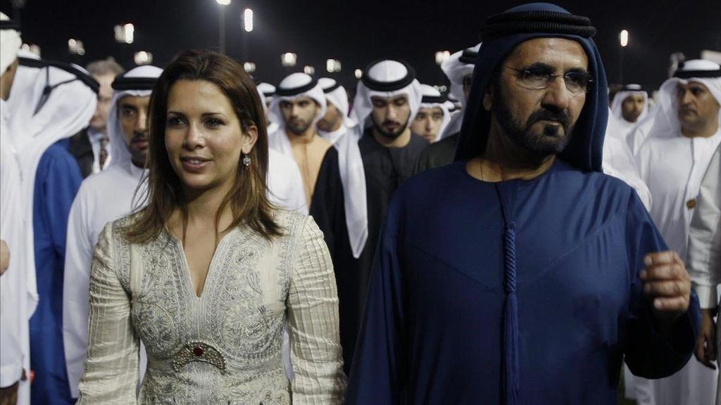 El emir de Dubái le declara la guerra a su esposa huida, Haya de Jordania