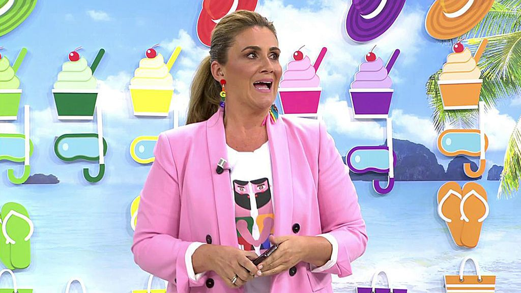 Carlota Corredera, emocionada con su aparición en 'Señoras del (h)AMPA'