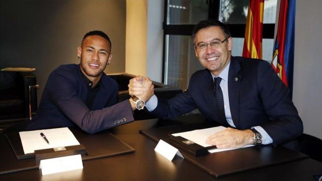 """Bartomeu: """"La salida de Jordi Mestre no tiene nada que ver con el fichaje de Neymar"""""""