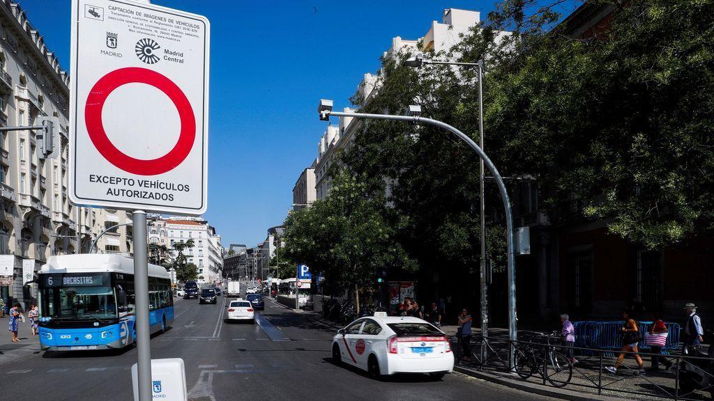 Madrid Central vuelve a estar en vigor: un juez obliga a restablecer las multas