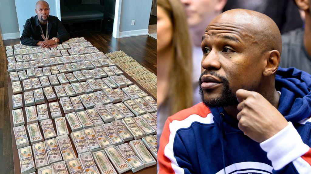 """El exboxeador Floyd Mayweather presume de estar forrado y lo enseña en sus redes: """"Estoy feliz de alardear de mi riqueza legal"""""""