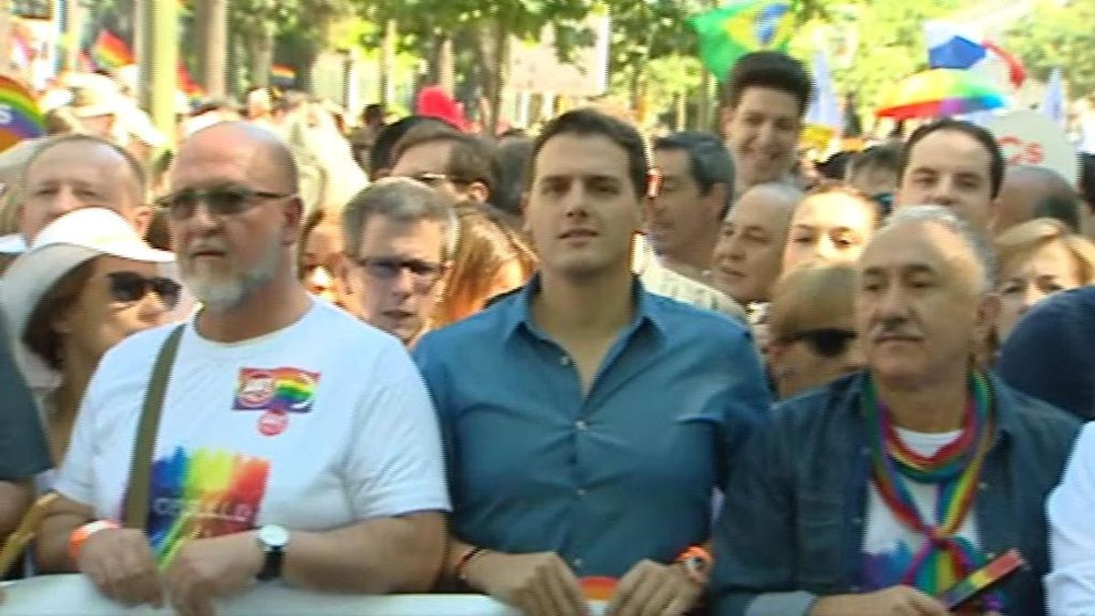 Ciudadanos pide a los organizadores acudir a la manifestación del orgullo sin condiciones