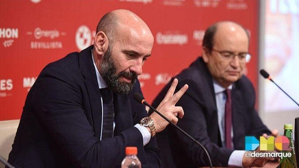 Monchi explica la metáfora del cuadro en la planificación deportiva del 'nuevo' Sevilla