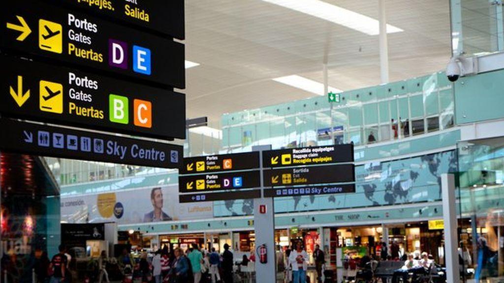 Detenidos dos ladrones por robar una maleta valorada en 237.000 euros en el aeropuerto de Barcelona