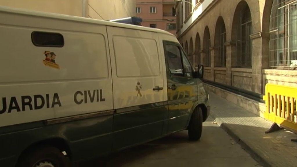 Pasan a disposición judicial los cuatro jóvenes alemanes acusados de violación en Mallorca