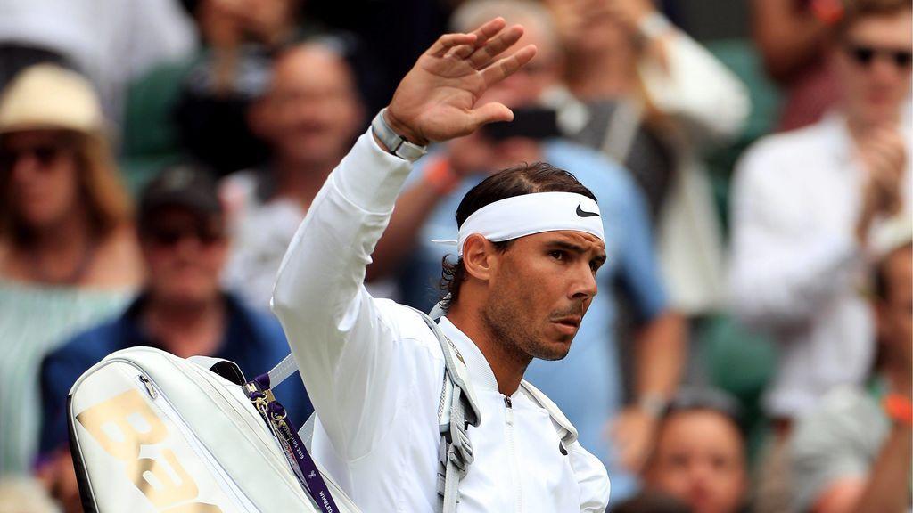 Rafa Nadal arrolla a Tsonga y se clasifica para los octavos de Wimbledon (6-2, 6-3, 6-2)