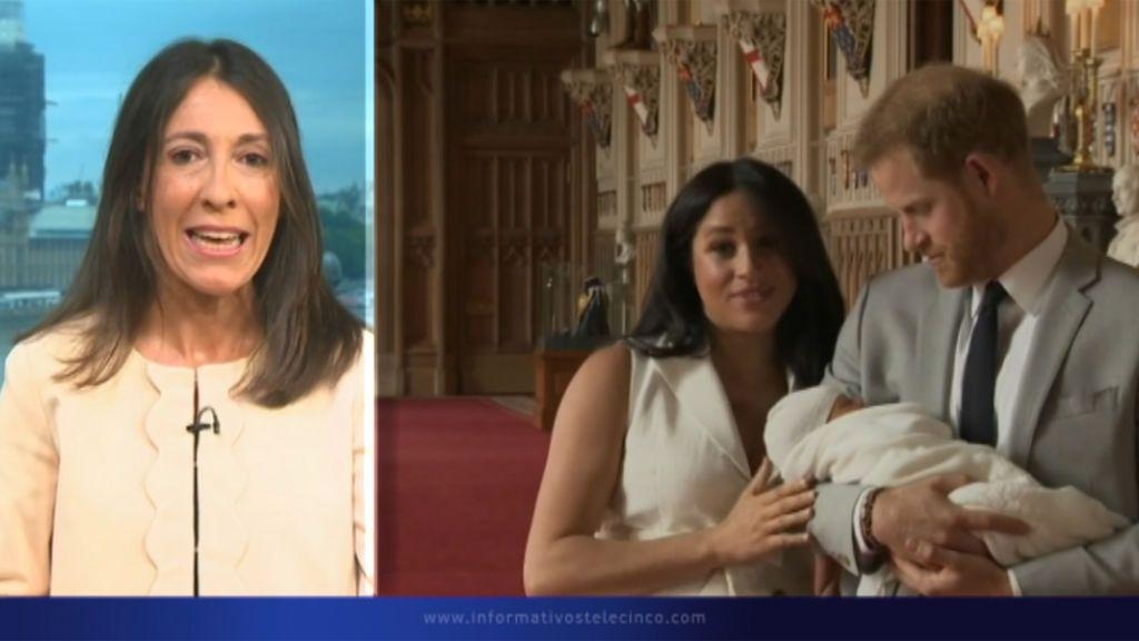 La reina Isabel II no acude al bautizo de Archie