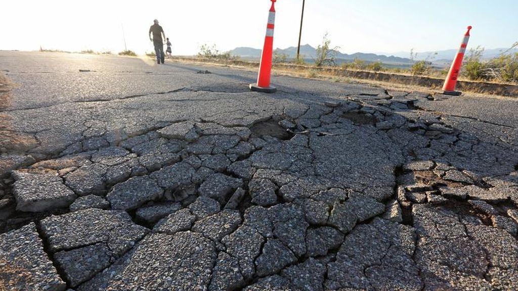 Así recoge la Red los momentos de angustia que han vivido durante el terremoto de 7,1 grados los ciudadanos de California