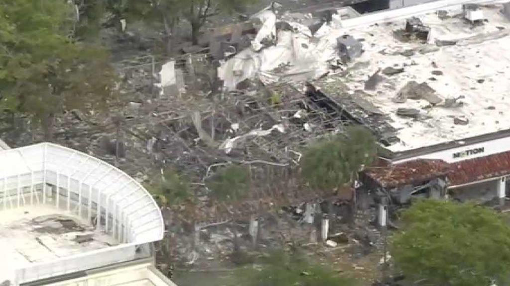 Al menos 20 heridos tras una fuerte explosión en un centro comercial en Florida