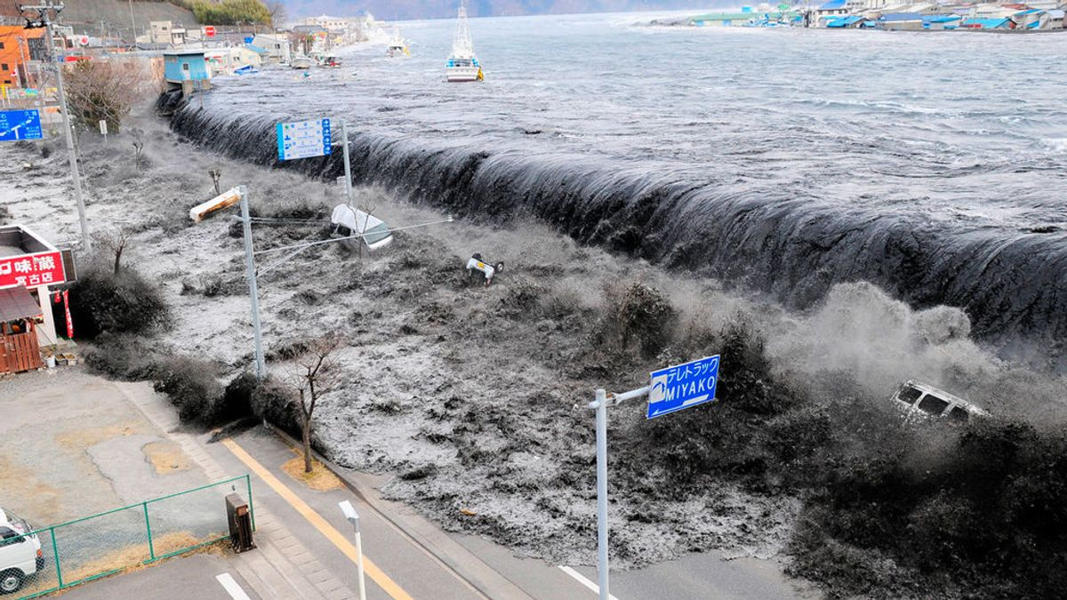 Qué es y qué hacer en caso de tsunami
