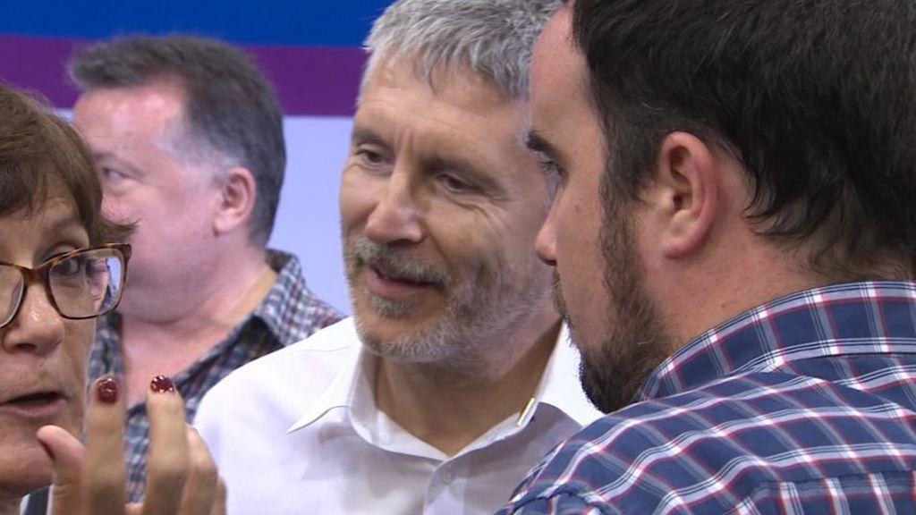 """El PSOE tilda de """"infamias"""" las acusaciones de C's a Grande-Marlaska"""